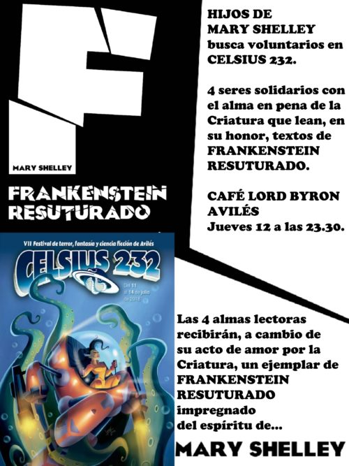 Hijos de Mary Shelley en Celsius 2018